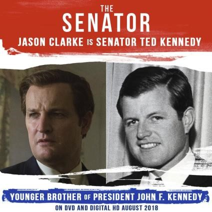 Senator Jason Clark as Ted Kennedy