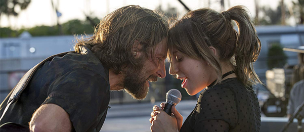 A Star is Born starring Lady Gaga and Bradley Cooper