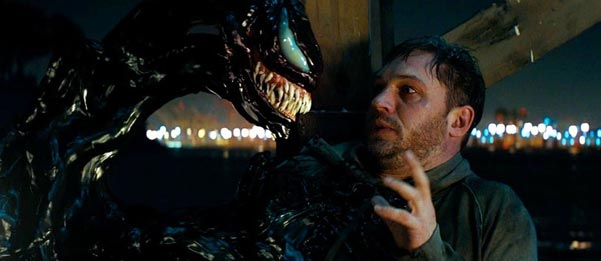 Venom with Tom Hardy