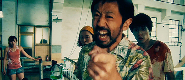 """ACTION"" Takayuki Hamatsu in One Cut of the Dead"