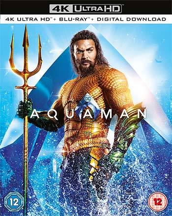 Aquaman blu ray packshot