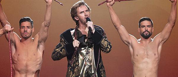 Eurovision Dan Stevens