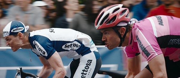 Racer Louis Talpe racing