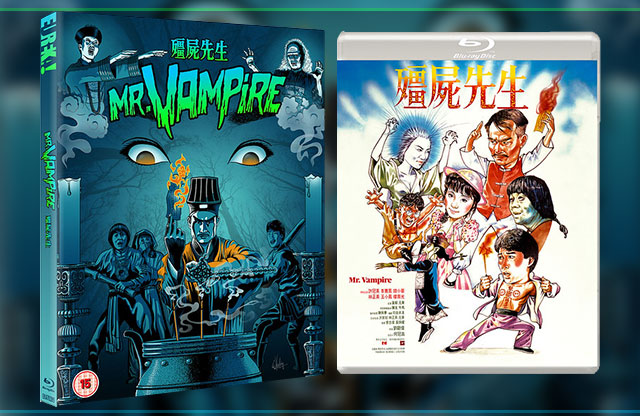 Mr Vampire Blu Ray packshot